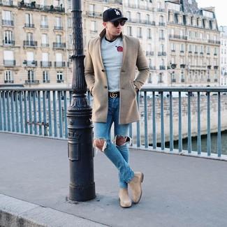 Jersey gris de LAGERFELD