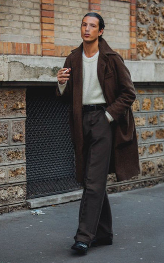 Correa de cuero negra de Givenchy