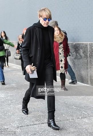 Bufanda negra de DSQUARED2