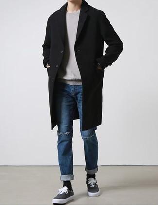 Jersey gris de Gant