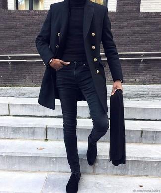 Bufanda Negra de Dolce & Gabbana