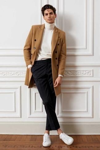 Unos Pantalones De Vestir Con Unos Tenis Blancos Para Hombres De 20 Anos En Clima Fresco 310 Outfits Lookastic Espana