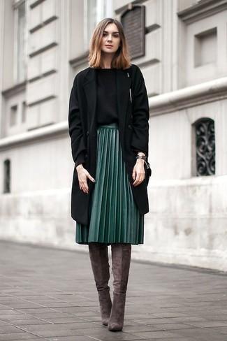 77c855b94b ... Look de moda  Abrigo negro