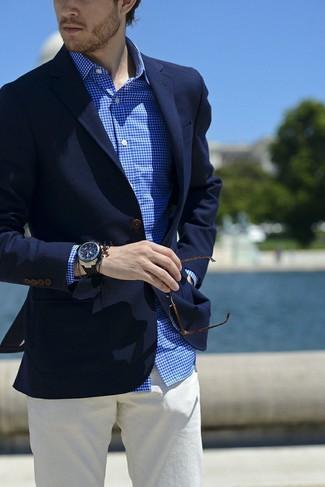 Blazer azul marino de Roy Robson