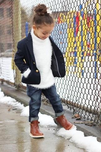 Cómo combinar un blazer azul marino:
