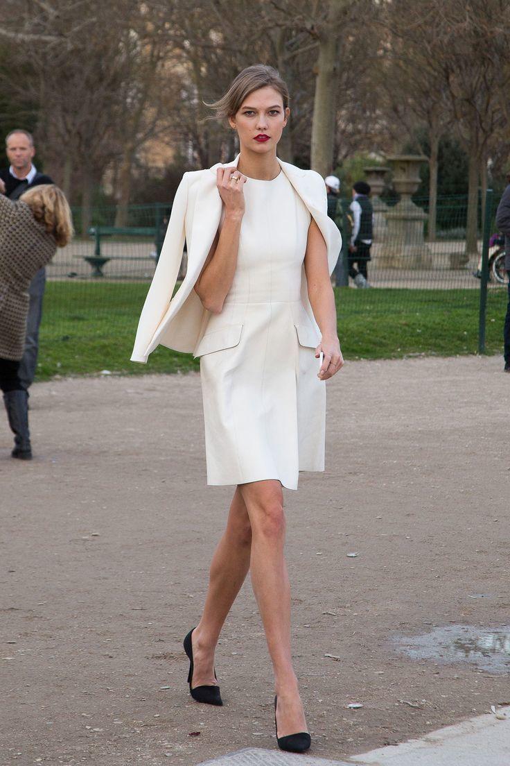 Blanco vestido combinar