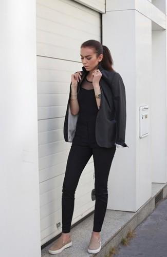 Blazer Gris Oscuro de Dolce & Gabbana