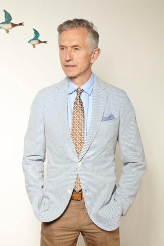 Pantalón chino marrón claro de Tom Tailor