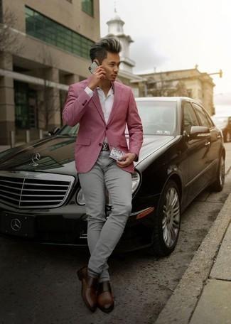 Chaqueta rosada de Tommy Hilfiger