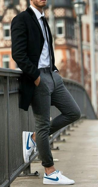 Un Unos Tenis De Blazer Con Looks Negro Blancos27 Cómo Combinar A3LqcRj54