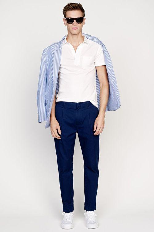 Camisas Polo Blancas Hombre