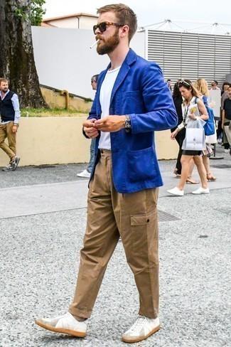 Chaqueta azul de Giesswein
