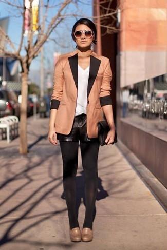 Blazer marrón claro de Giorgio Armani Vintage