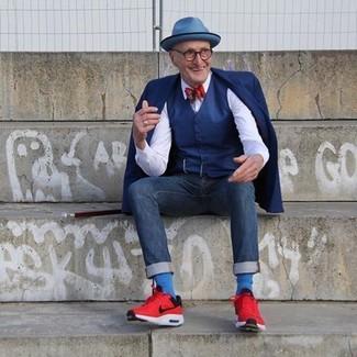 54649840c7da4 Cómo combinar unos calcetines azules (115 looks de moda)