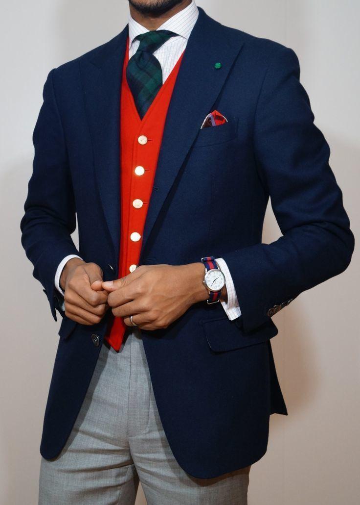 Cómo Combinar Un Chaleco De Vestir Rojo 14 Looks De Moda