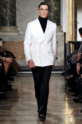 Jersey de cuello alto negro de Al Duca D'Aosta 1902