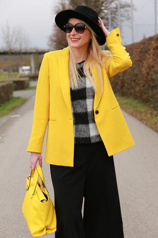 Blazer amarillo de Isabel Marant