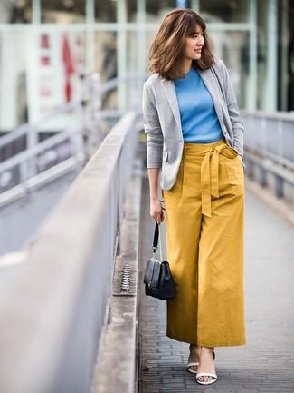 Como Combinar Unos Pantalones Mostaza 103 Outfits Lookastic Espana