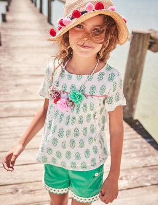 Cómo combinar un sombrero de paja en beige estilo casual elegante: