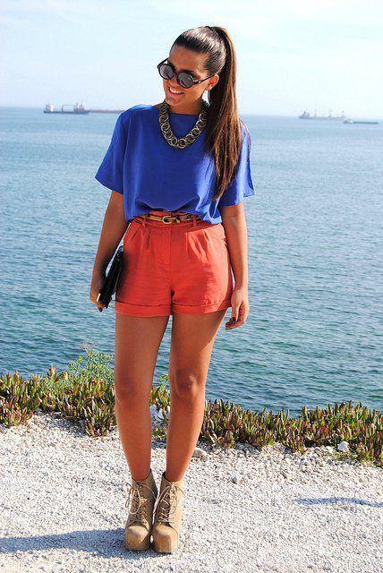 De moda Ante Botines con Cordones azul Botines con cordones