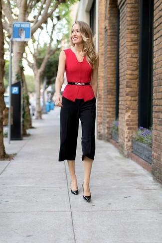 Falda pantalón negra de Kenzo