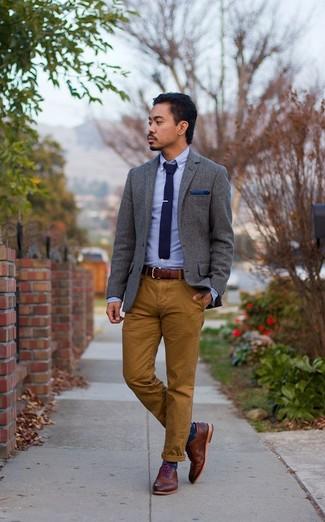 Pantalón chino marrón de Boss Orange