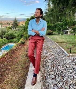 Como Combinar Unos Pantalones Rojos 408 Outfits Lookastic Espana