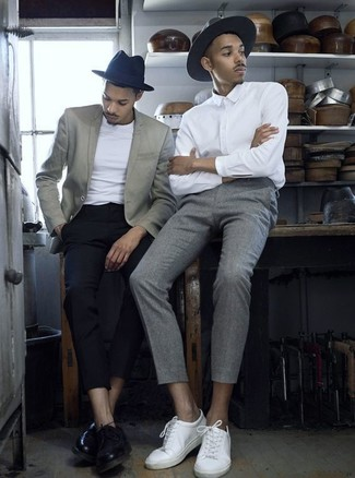 Pantalón de vestir de lana gris de Acne Studios