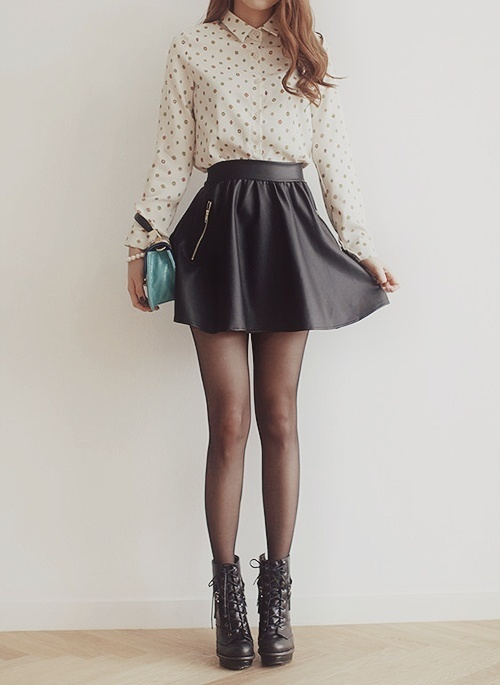90e8a4b93 faldas negras de moda