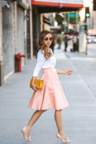 ... Look de moda  Camisa de vestir blanca e0e3b8f5cfbc