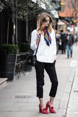 Como Combinar Un Pantalon Capri 62 Outfits Lookastic Espana