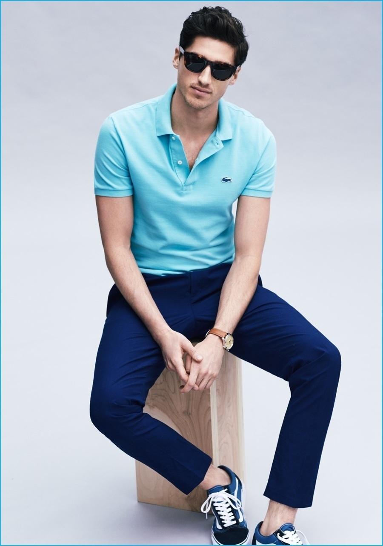 Para Unos Azules Moda Looks Cómo Moda Combinar Tenis De 127 fqC54wZ
