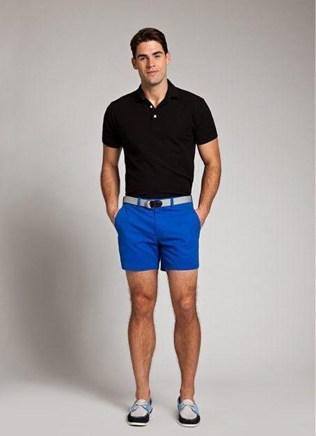 Vestir Unos Náuticos Cortos Pantalones Con Azules13 Looks De SzMUpV