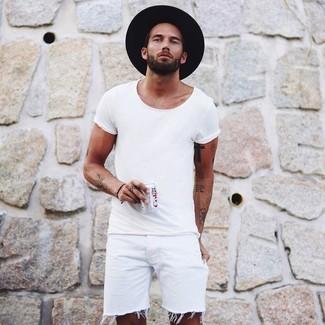 Sombrero de lana negro de ASOS DESIGN