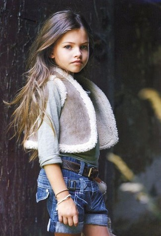 Pantalones cortos vaqueros azules de Stella McCartney