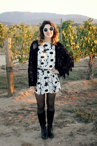 Gafas de sol en negro y blanco de Wildfox Couture