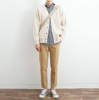 Jersey blanco de Hilfiger Denim