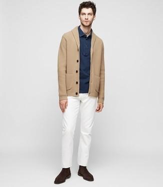 Pantalón chino blanco de Tommy Hilfiger