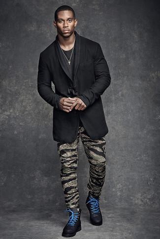 Botas casual de cuero negras de Kg Kurt Geiger