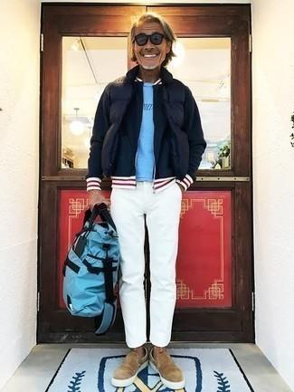 Gafas de sol azul marino de Valentino