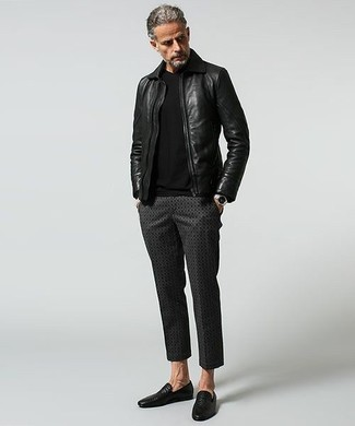 Jersey con cuello circular negro de ONLY & SONS