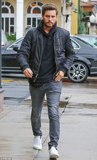 Sudadera con capucha negra de Urban Classics