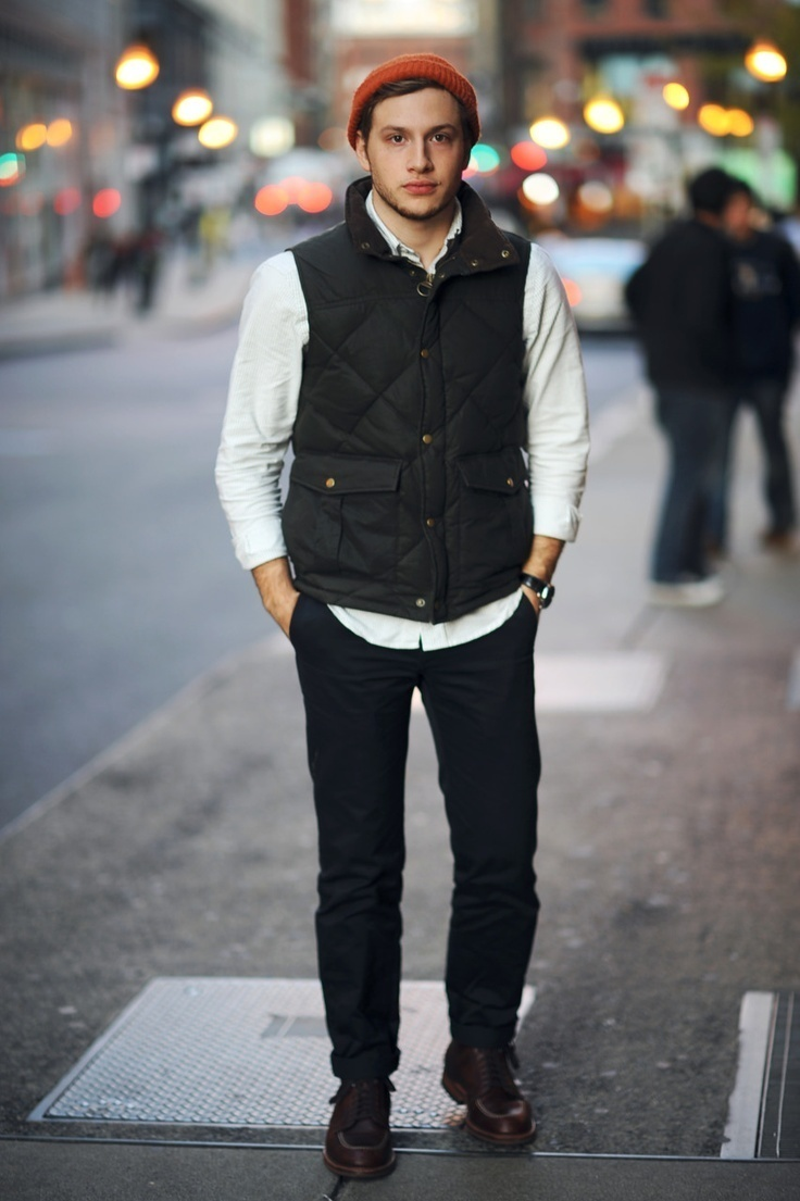 moda abrigo negro un Cómo de chaleco combinar de looks Moda 28 anRqxf7
