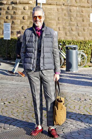 Chaleco de abrigo traje camisa de manga larga large 7808