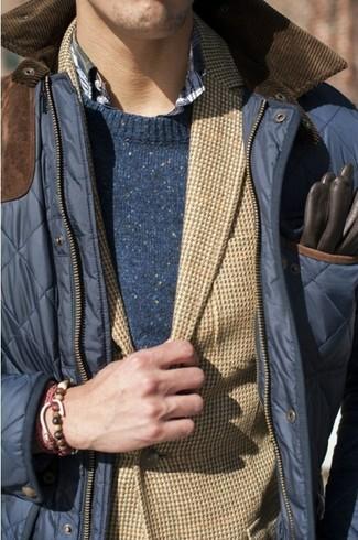 Blazer marrón claro de Maleko
