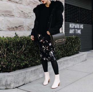 Falda Lápiz de Flores Negra de Dolce   Gabbana  dónde comprar y cómo ... b6d0d325545c