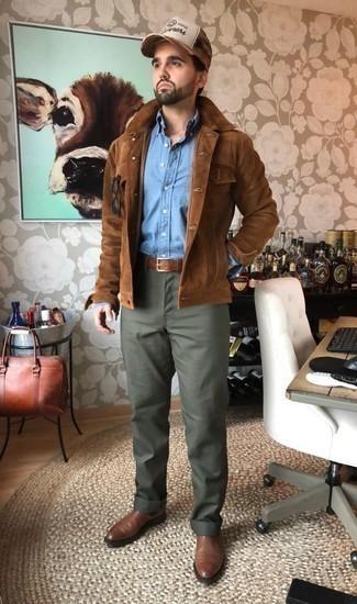 Chaqueta marrón de G-Star RAW