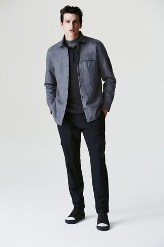 Jersey negro de Armor Lux