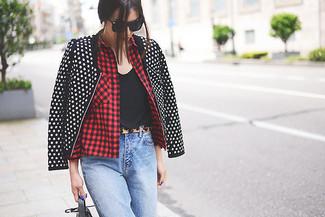 Blusa sin mangas negra de Alexander McQueen