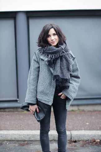 Chaqueta lana mujer combinar